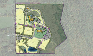 Proposed Event Center Site Plan